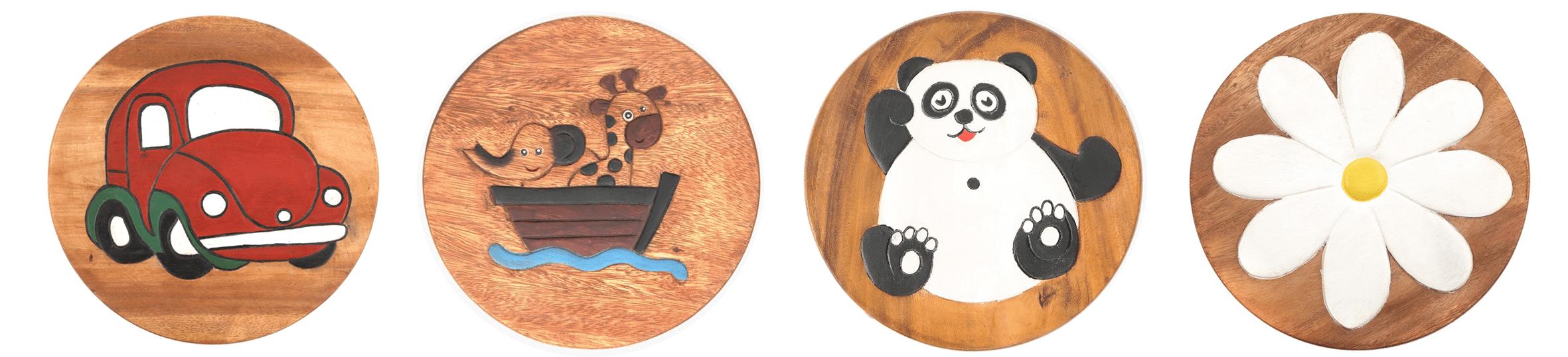 Children's Wooden Stools