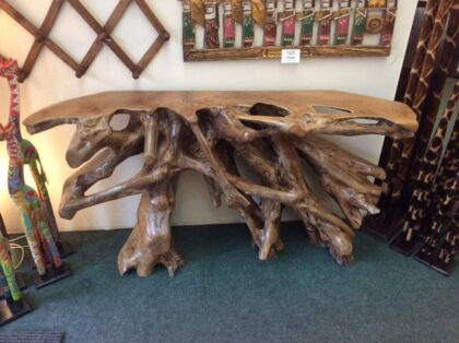 Teak Root Table - Medium