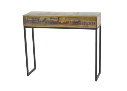 Loft Console Table with 2 Drawers