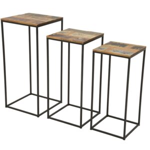 Loft Console Table Set (3)
