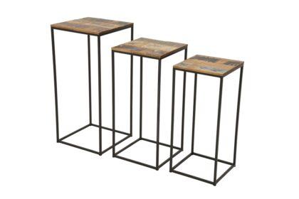Loft Console Table Set (3)