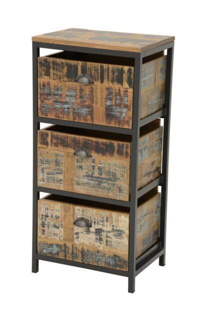 Loft Column with 3 Drawer